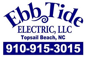 Ebb Tide Electric Topsail Beach NC
